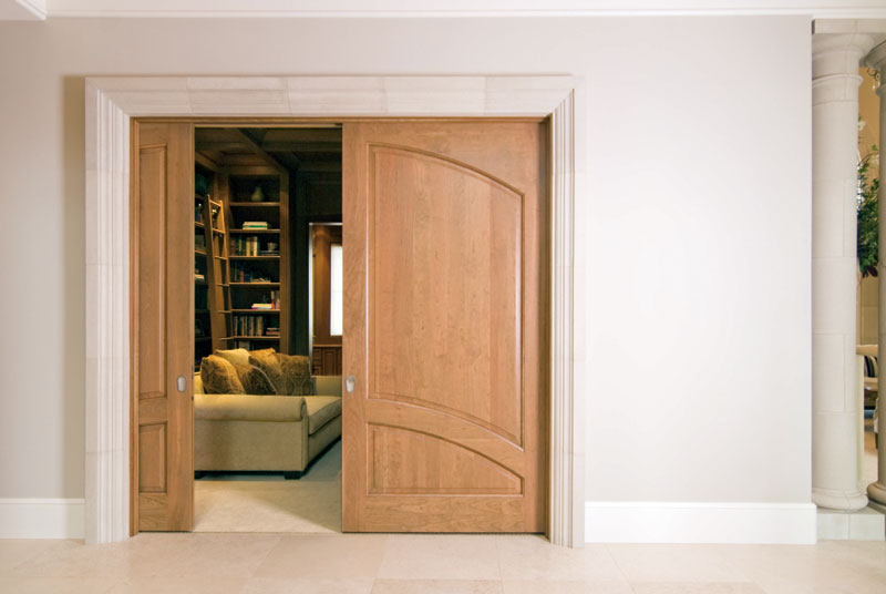 Trustile Doors - Two Panel Pocket Doors : premium doors - pezcame.com